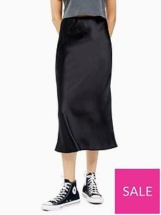 topshop-satin-bias-cut-midi-skirt-black