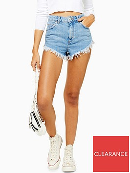 topshop-raw-edge-denim-shorts-blue