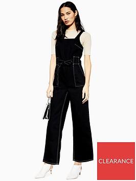 topshop-square-neck-denim-jumpsuit-black