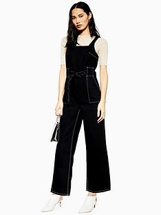 topshop-topshop-square-neck-denim-jumpsuit-black