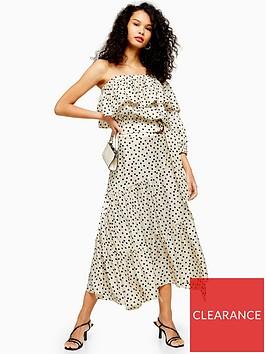 topshop-tall-spot-tiered-midi-skirt-monochrome