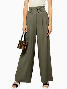 topshop-twill-wide-leg-trousers-khaki