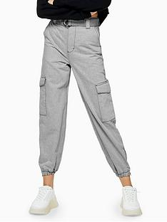 topshop-judo-denim-joggers-grey