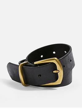 topshop-topshopnbspleather-belt-black