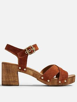 topshop-veronica-leather-clog-sandals