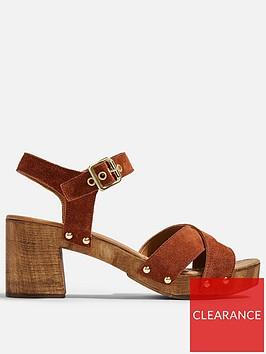 topshop-veronica-leather-clog-sandals