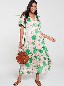 v-by-very-floral-wrap-midaxinbspdress-print