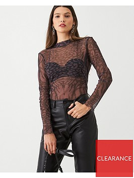 v-by-very-animal-mesh-high-neck-top-multiblack