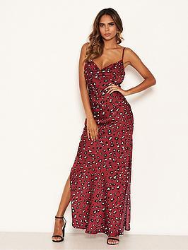 ax-paris-leopard-print-cowl-neck-maxi-slip-dress-red