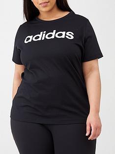 adidas-plus-w-e-lin-s-tee-black