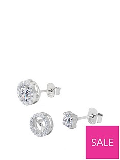the-love-silver-collection-sterling-silver-cubic-zirconia-interchangeable-halo-solitaire-stud-earrings