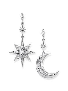 thomas-sabo-moon-and-star-earrings