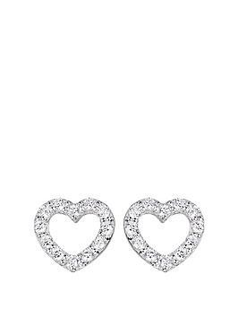 love-gold-9ct-white-gold-cubic-zirconia-open-heart-stud-earrings