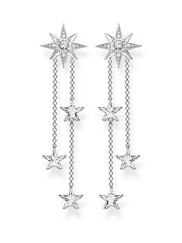 thomas-sabo-zirconia-magic-stars-drop-earrings