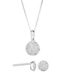 love-diamond-9ct-white-gold-20pt-total-diamond-round-pave-stud-earrings-and-pendant-set