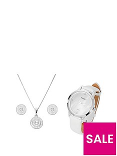 evoke-evoke-sterling-silver-swarovski-crystal-cluster-stud-earrings-pendant-and-watch-gift-set