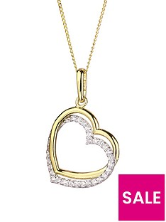 love-gold-9ct-gold-cubic-zirconia-double-heart-pendant-necklace