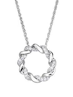love-diamond-sterling-silver-21pt-diamond-twist-circle-pendant-necklace