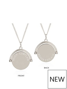 rachel-jackson-london-rachel-jackson-london-never-complain-never-explain-silver-spinner-necklace
