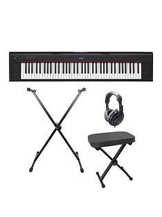 yamaha-yamaha-piaggero-np32-keyboard-pack-with-headphones-stand-stool-6-months-free-online-lessons