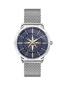 thomas-sabo-rebel-spirit-compass-mesh-strap-two-tone-mens-watch