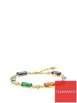 thomas-sabo-gold-magic-stones-colourful-star-bracelet