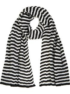 allsaints-striped-blanket-scarf-blackwhite