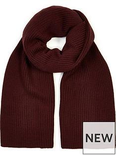 allsaints-half-cardigan-scarf-burgundy
