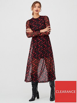 v-by-very-floral-mesh-midaxi-dress-black