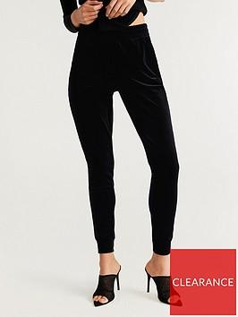 mango-tapered-velvet-trousers