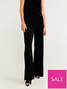 mango-velvet-wide-leg-trouser-black
