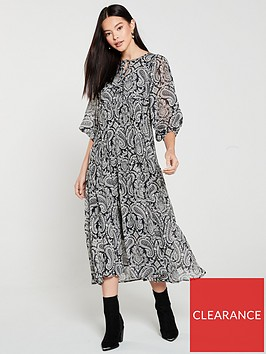 mango-paisley-print-midaxi-dress-black