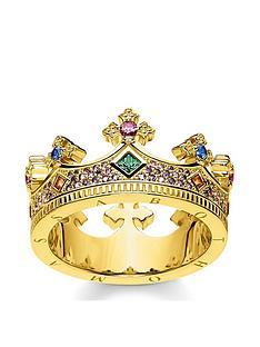 thomas-sabo-gold-crown-ring