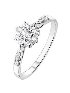 love-diamond-9ct-white-gold-33pt-diamond-cluster-ring-with-set-shoulders