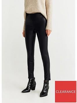 mango-pu-leather-basic-skinny-trouser