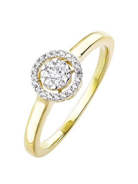 love-diamond-9ct-gold-13pt-diamond-halo-ring