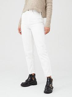v-by-very-high-waist-mom-jean-ndash-winter-white