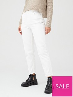 v-by-very-high-waist-mom-jean-ndash-winter-white
