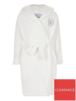 river-island-girls-love-ri-fluffy-dressing-gown--white