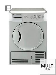beko-dcu7230s-7kg-load-sensor-condenser-dryer-silvernbsp