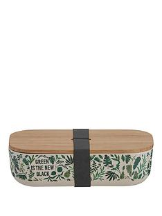 typhoon-typhoon-pure-green-is-the-new-black-decorative-bamboo-fibre-lunch-box-with-lid-and-built-in-strap