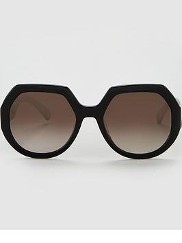 longchamp-longchamp-heritage-hexagon-sunglasses-black