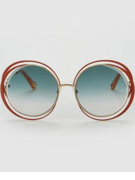 chloe-carlina-round-eye-sunglasses-browngreen