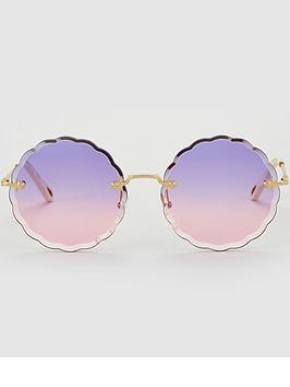 chloe-rosie-round-eye-sunglasses-goldviolet