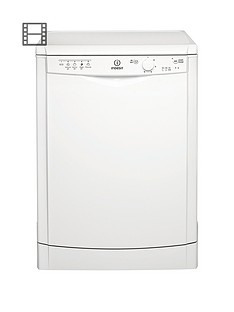 Indesit DFG15B1 12 Place Dishwasher - White Best Price, Cheapest Prices