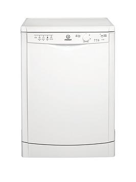 Indesit Dfg15B1 12-Place Full Size Dishwasher With Quick Wash - White Best Price, Cheapest Prices