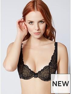 boux-avenue-tori-plunge-bra-black