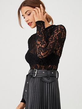 v-by-very-textured-lace-high-neck-top-black