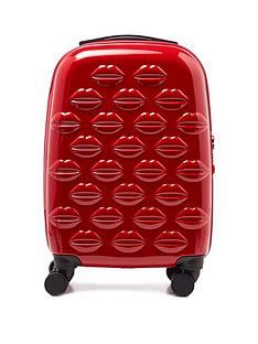 lulu-guinness-red-small-lips-hardside-spinner-case
