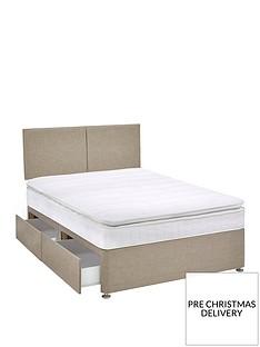 airsprung-ezra-600-pocket-pillow-top-divan-bed-with-storage-options
